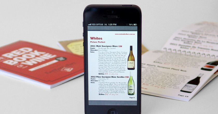 EEC Red Book of Wine - Interactive PDF for mobile devices.