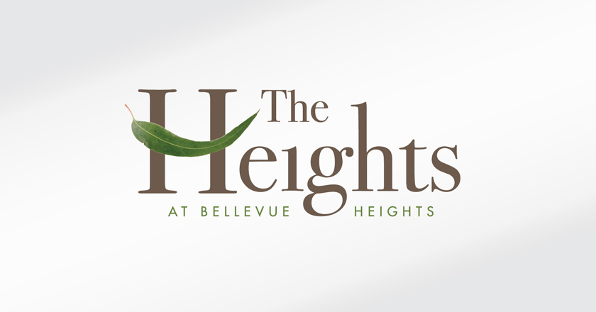 The Heights Retirement Village Corporate Logotype - Primary Logo