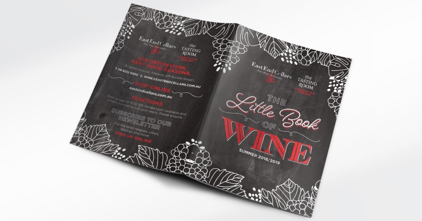 EEC Little Book of Wine - Outside Cover