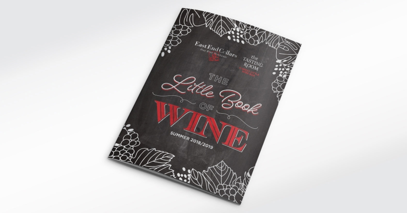 EEC Little Book of Wine - 36 Page Printed & Digital Catalogue