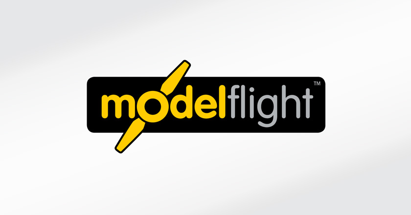 Model Flight Company Logotype - Primary Logo