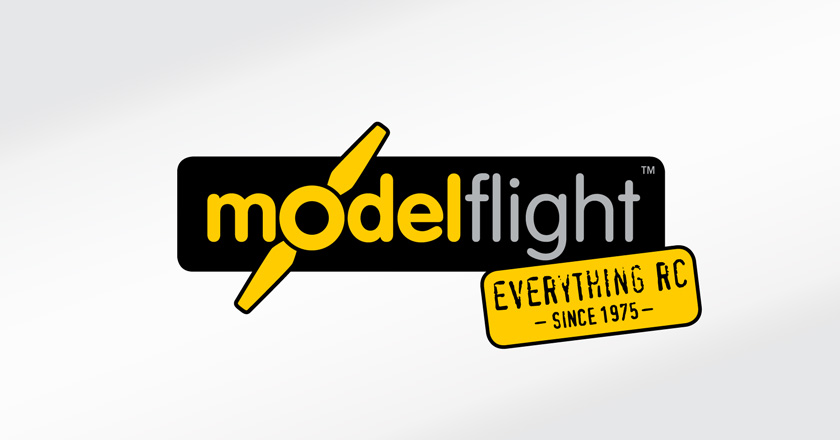 Model Flight Company Logotype - Primary Logo with Tagline