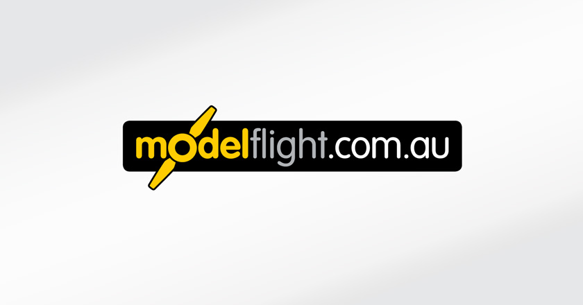 Model Flight Company Logotype - Web Logo