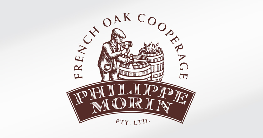 Philippe Morin French Oak Cooperage Company Logotype - Primary Logo