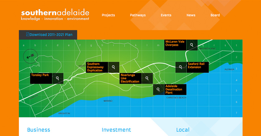 Southern Adelaide EDB Website - Home Page