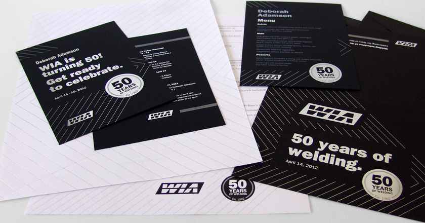 Welding Industries of Australia, 50th Anniversary Collateral